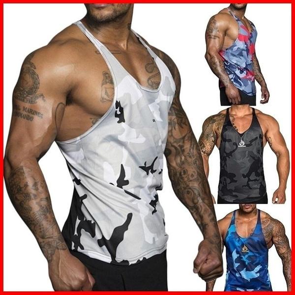 bodybuildingvest, summervest, Tank, bodyshapersformen