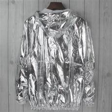 silverjacket, zipjacket, Fashion, gold
