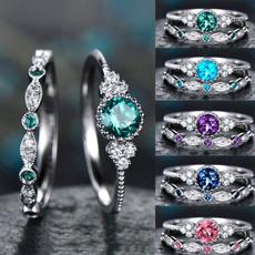 Fashion Boutique, DIAMOND, wedding ring, 925 silver rings