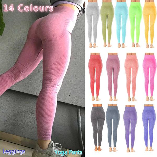 Women, Leggings, Yoga, high waist