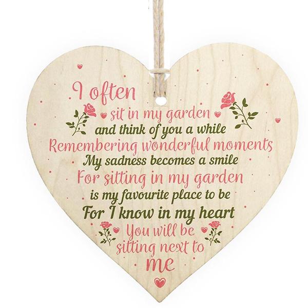 inmemorydad, Heart, Garden, inmemorymom
