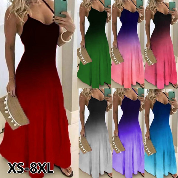 Summer, Vest, Fashion, print dress