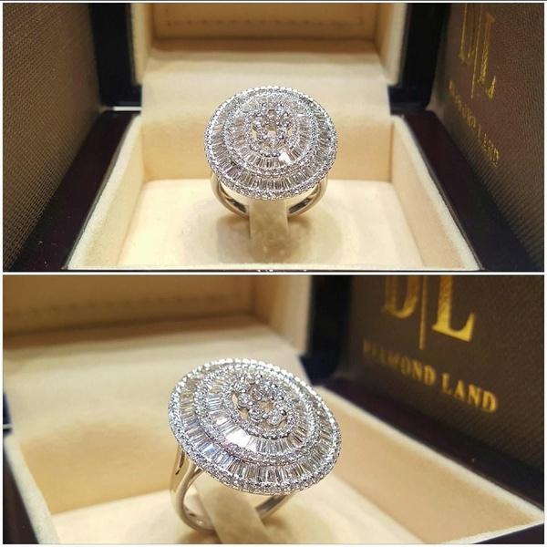 Sterling, DIAMOND, Jewelry, Romantic