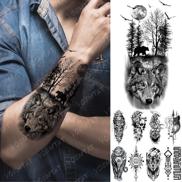 Flying, tattoo, tattoobodyart, art