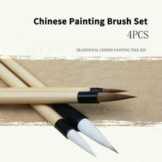 watercolorbrushset, Art Supplies, hair, art