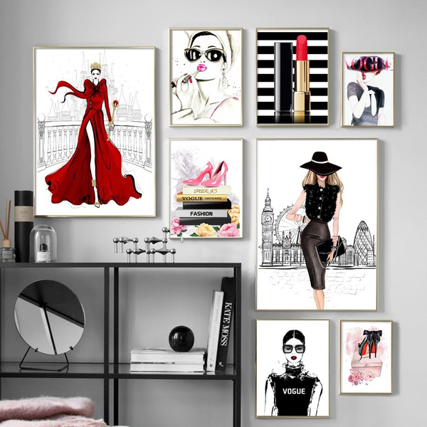 Fashion, art, canvaspainting, landscapescenery