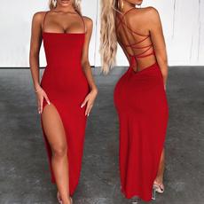 Women, Fashion, sexy dresses, long dress
