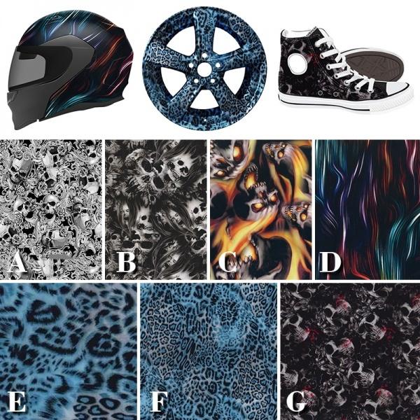 watertransfer, Fashion, hydrographicfilm, water
