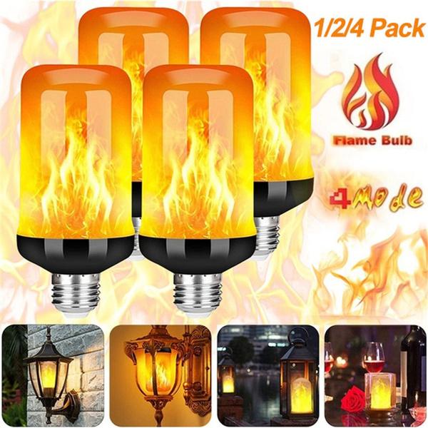 Light Bulb, firelight, Decor, led
