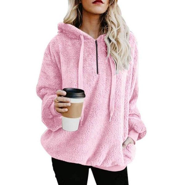 Fleece, Women Sweater, velvet, fleecepullover