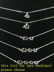 monogram, Steel, charmpendantnecklace, newmomgift