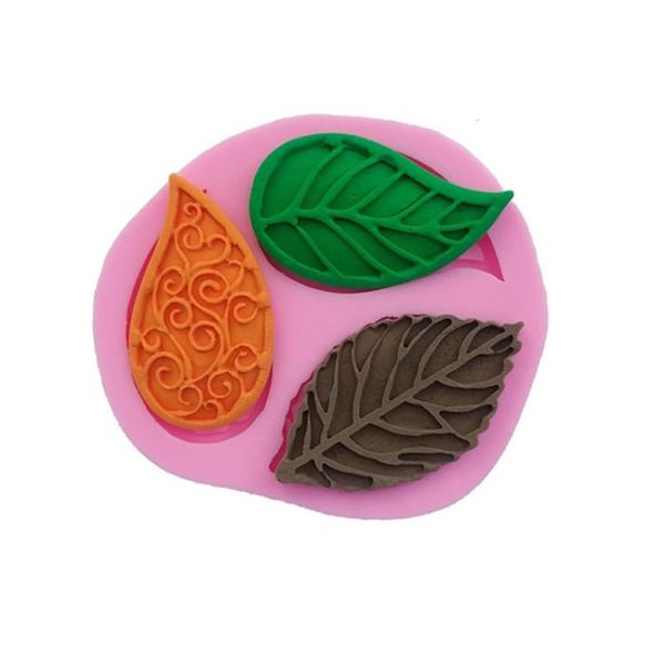 Baking, kitchendiytool, leaf, Silicone