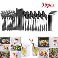 Forks, stainlesssteelstraw, Stainless Steel, Steel