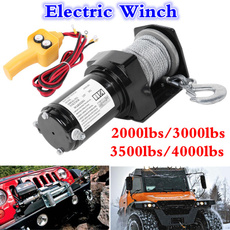 Heavy, electricwinch, Rope, Remote Controls