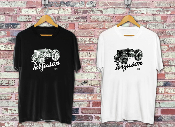 tractorshirt, art, Tops & T-Shirts, roundnecktshirt