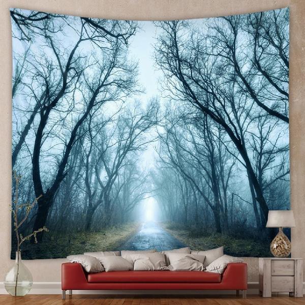 Beautiful, roomdivider, art, walltapestry