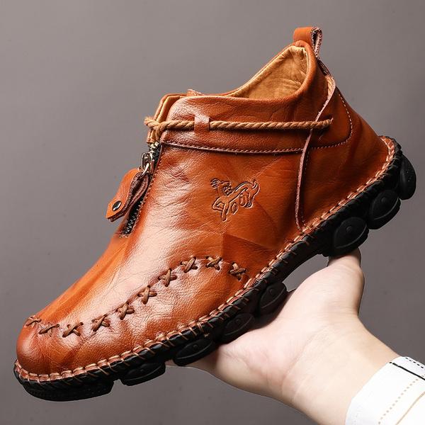 shoes men, Plus Size, casualleathershoesformen, businessoxfordshoe