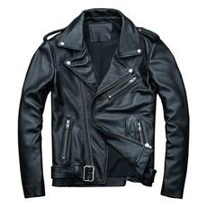 blackleatherjacket, leatherjacketcoat, Fashion, springleatherjacket