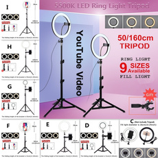 led, Joyería, ledringlightwithstand, tripodforphone