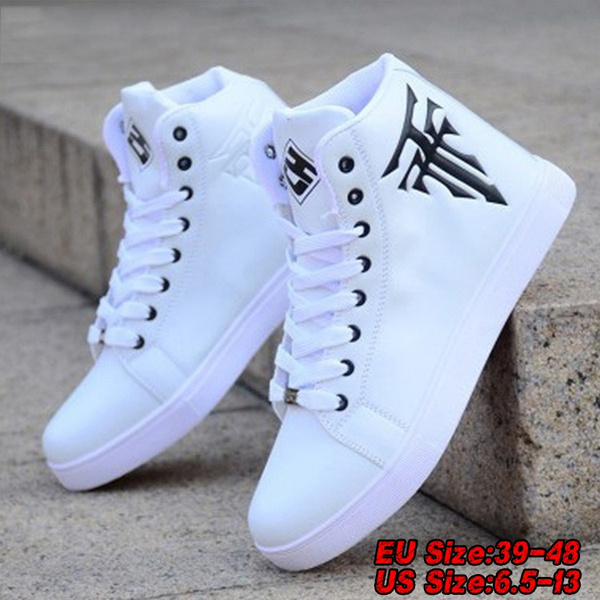 New Mens High Top Sneaker Canvas Shoes