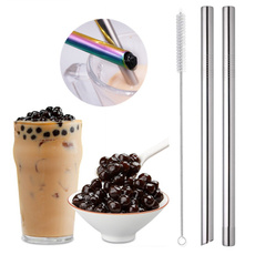 Steel, drinkingstraw, smoothiesstraw, Colorful