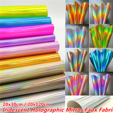 rainbow, Holographic, Laser, Fabric
