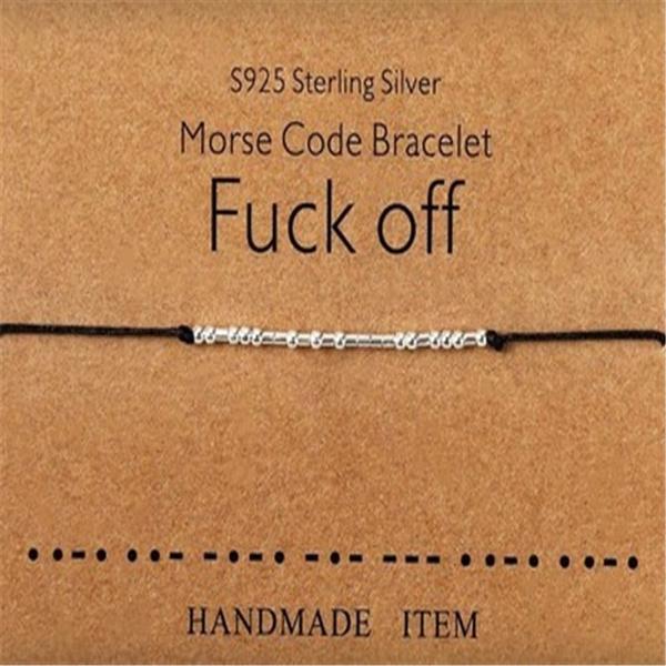 braceletgift, morsecodebracelet, Jewelry, Gifts