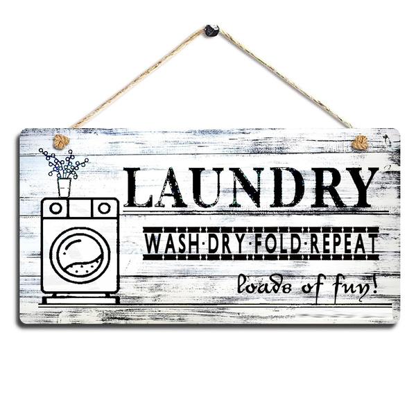 laundrywoodsign, Wood, boysroomdecor, doorsign