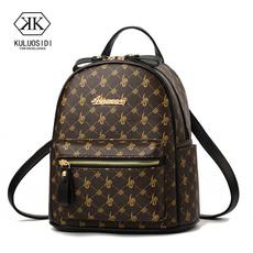 School, teenage, leather, Backpacks