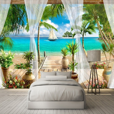 Decor, roomdivider, art, walltapestry