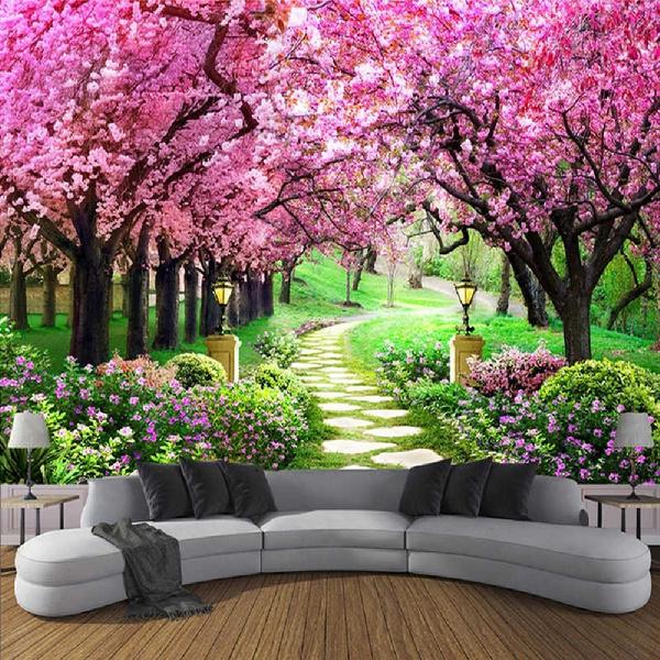 Decor, roomdivider, walltapestry, cherryblossom