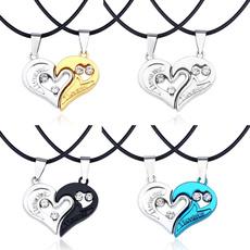 clavicle  chain, DIAMOND, valentinesdaypresent, Heart