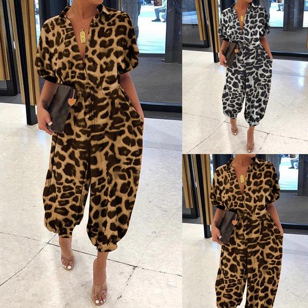casualjumpsuit, leopardprintromper, leopard print, Leopard