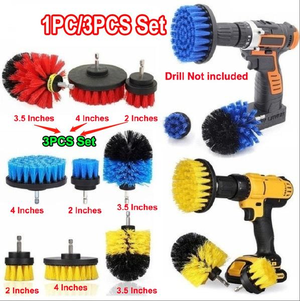 Bathroom, drillscrubberbrush, cleaningbrush, Tool