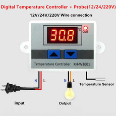 thermostatcontrol, led, coolingampair, Waterproof