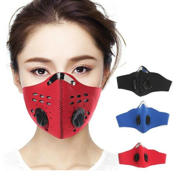 carbonmask, dustproofmask, Bicycle, antifogpm25mask
