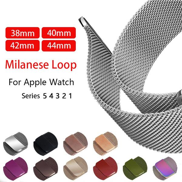 Steel, Sport, watchbandforwomen, Apple