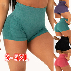 Summer, elastic waist, Yoga, high waist