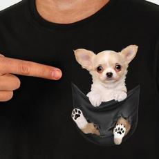 chihuahuashirt, cute, chihuahua, Cotton T Shirt