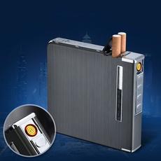 case, Box, tobaccolighter, usb