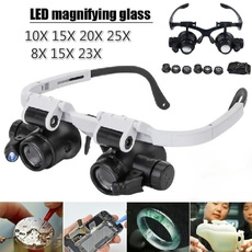 led, jewelrymagnifierglasse, magnifierwithledlight, Glass