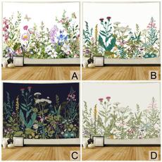 Plants, roomdivider, walltapestry, Nature