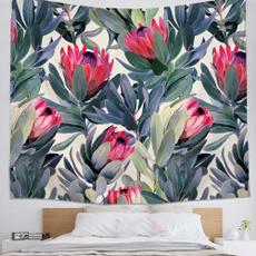 Plants, roomdivider, walltapestry, hangingtapestry