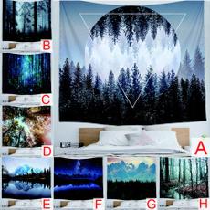 Polyester, dormtapestry, Nature, hangingtapestry