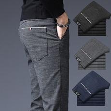 plaid, skinny pants, Casual pants, dresspant
