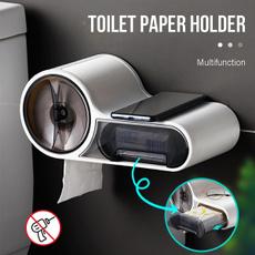 Box, Bathroom, phone holder, toiletpaperdispenser