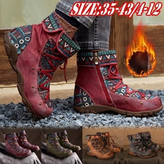 women39sfashion, Lace, Winter Boot, leather