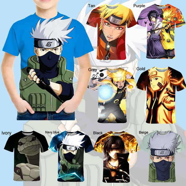 Boy, Fashion, kidstshirt, naruto3dkidstshirt