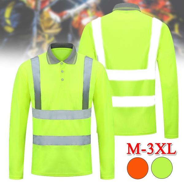 safetytop, reflectivetshirt, Polo Shirts, Sleeve