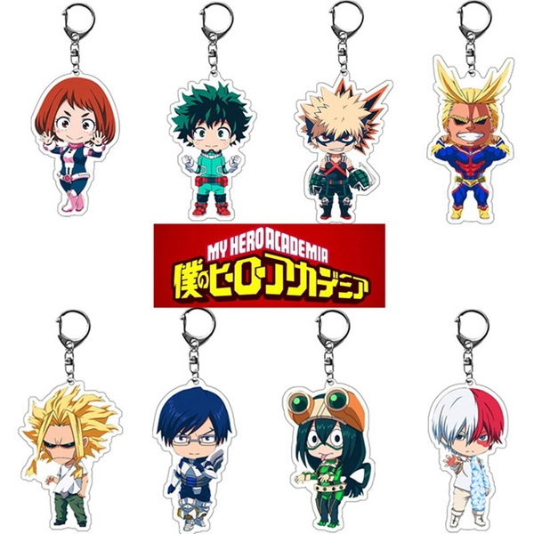 myheroacademia, Cosplay, Jewelry, cutecartoonkeychain